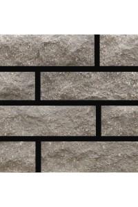Кирпич Мария гиперпрессованный Финский серый тычковый, 1НФ, облицовочный