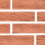 Кирпич Маркинский керамический Красный риф, 1НФ, облицовочный