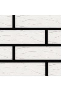 Кирпич Старооскольский керамический белый руст 1НФ (одинарный)