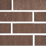 Кирпич Старооскольский керамический коричневый бархат 1НФ (одинарный) облицовочный