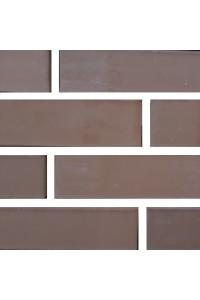 Кирпич Старооскольский керамический коричневый 1НФ (одинарный) облицовочный