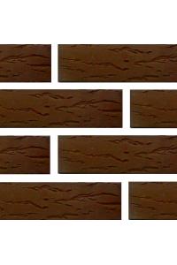 Кирпич Белгородский керамический коричневый руст 1НФ (одинарный)