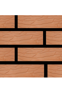 Кирпич Донской керамический красный коралл 1НФ (одинарный) облицовочный