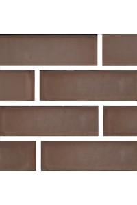Кирпич Донской керамический темно-коричневый 1НФ (одинарный) облицовочный