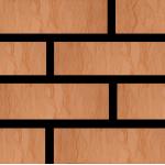 Кирпич Красная Гвардия керамический Cortex красный 1НФ (одинарный) лицевой