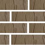 Кирпич Красная Гвардия керамический Cortex коричневый 1НФ (одинарный) лицевой