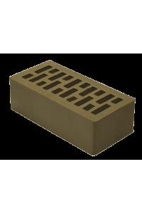 Кирпич Липецкий керамический М175 корица 1,4НФ (полуторный) облицовочный
