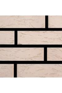 Кирпич Маркинский керамический светло-бежевый риф 1НФ (одинарный) облицовочный