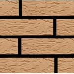 Кирпич Маркинский керамический солома риф 1НФ (одинарный) облицовочный