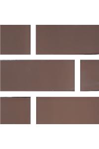 Кирпич Новомосковский керамический коричневый 1,4НФ лицевой