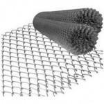 Сетка рабица 1.5*10м (ячейка 50*50*1.5мм) стальная оцинкованная