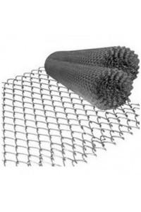 Сетка рабица 1.5*10м (ячейка 25*25*1.5мм) стальная оцинкованная