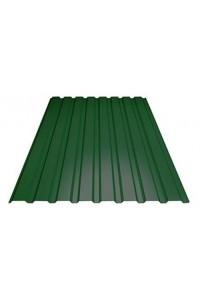 Профнастил для забора С-8 стеновой 1200*1500мм зеленый