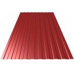 Профнастил С-8 стеновой 1200*1800мм красная окись