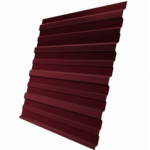 Профилированный лист МП-20 1150*2000мм красное вино