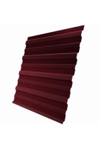 Профнастил для забора С-8 стеновой 1200*1500мм красное вино