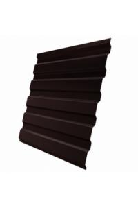 Профнастил для забора С-8 стеновой 1200*2000мм коричневый