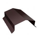 Парапет дом 450*2000мм коричневый