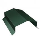 Парапет дом 450*2000мм зеленый