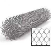 Сетка рабица 1.5*10м (ячейка 35*35*1.5мм) стальная оцинкованная